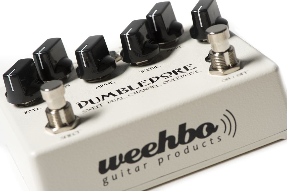 WEEHBO Guitar Products - DUMBLEDORE V2 - Sweet Dual Channel Overdrive