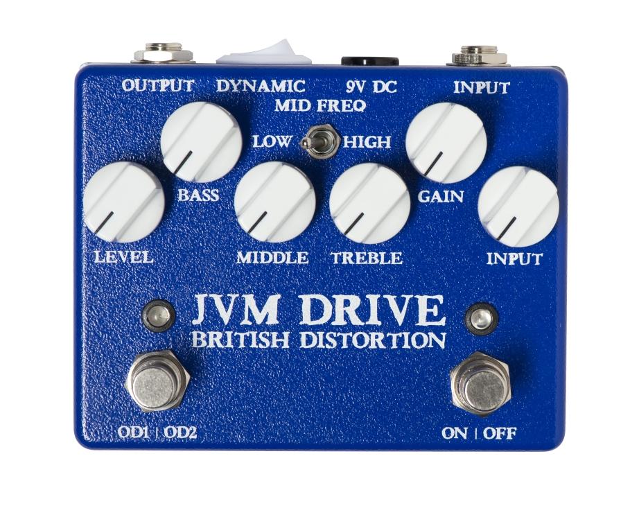WEEHBO Guitar Products - JVM DRIVE – British Distortion