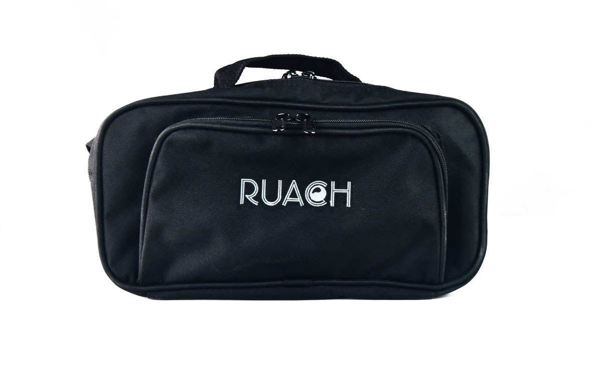 Ruach-music-Pedal-board-Gig-Bags-Size-1-Black-normal-with-carry-strap-1