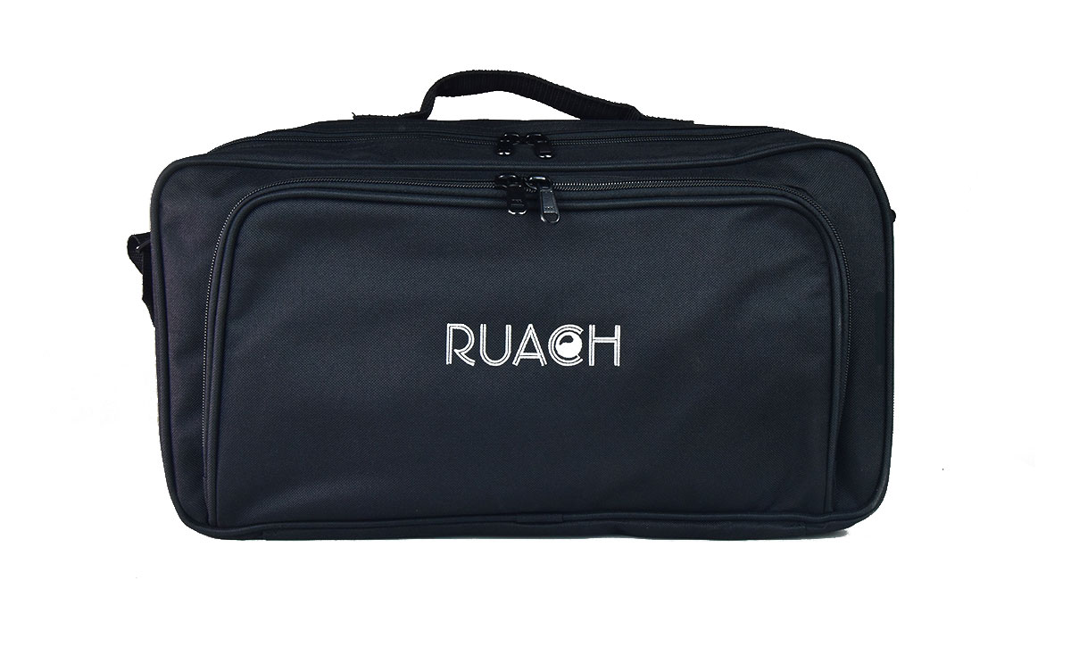 Ruach-music-Pedal-board-Gig-Bags-Size-2-Black-normal-with-carry-strap-1