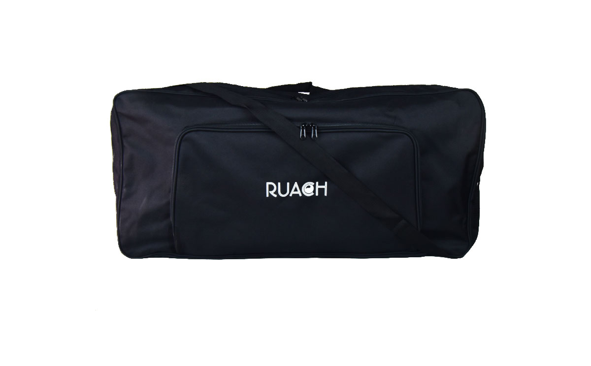 Ruach-music-Pedal-board-Gig-Bags-Size-4-Black-normal-with-carry-strap-2