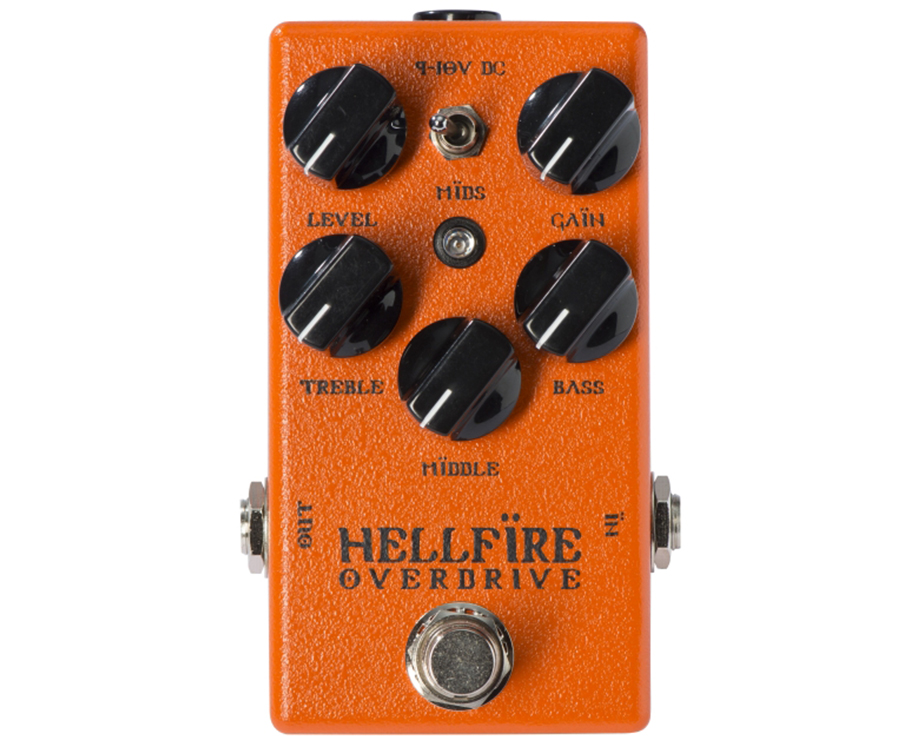 WEEHBO Guitar Products - Hellfire V2 – Overdrive