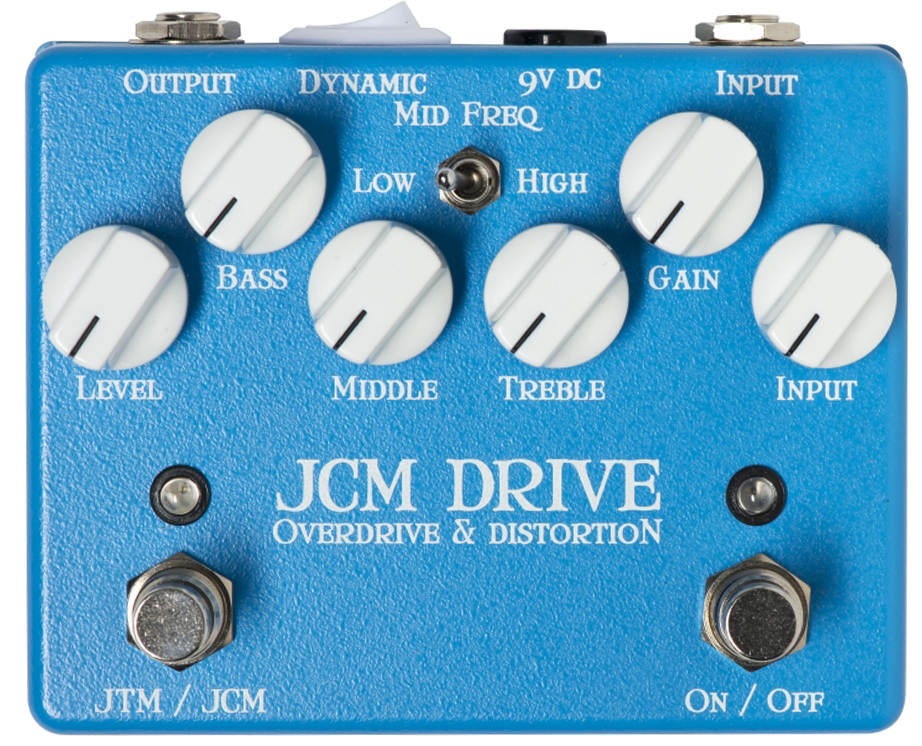 WEEHBO Guitar Products - JCM DRIVE V3 – Overdrive & Distortion