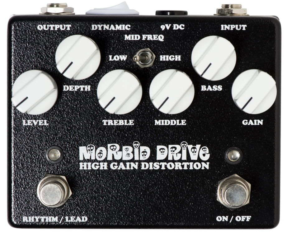 WEEHBO Guitar Products - MORBID DRIVE V4 – High Gain Distortion