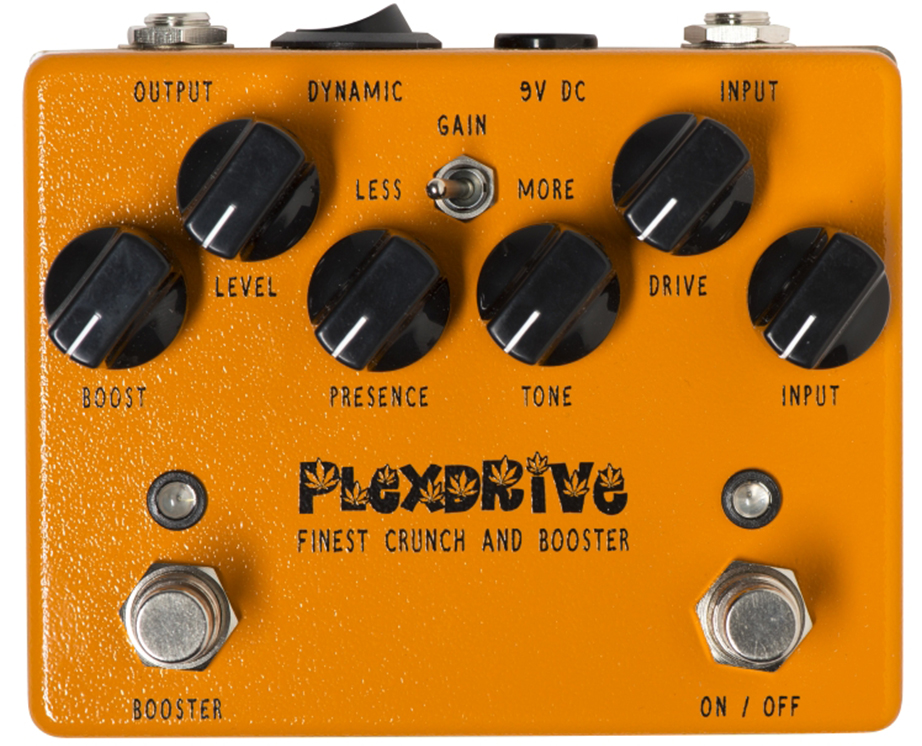 WEEHBO Guitar Products - PLEXDRIVE - Finest Crunch and Booster