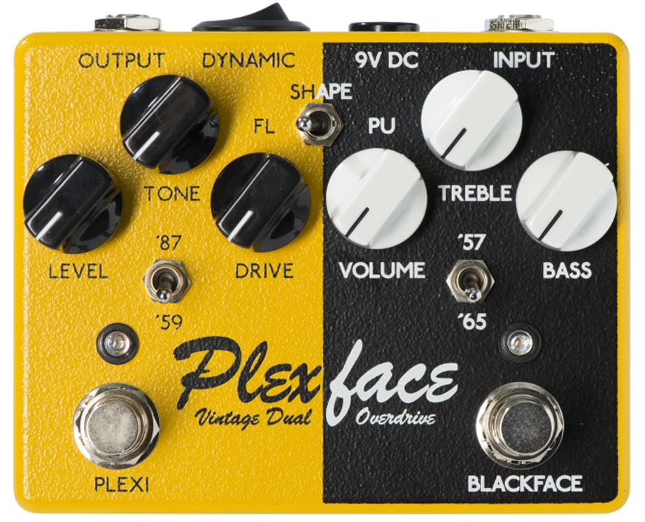 WEEHBO Guitar Products - PLEXFACE – Vintage Dual Overdrive