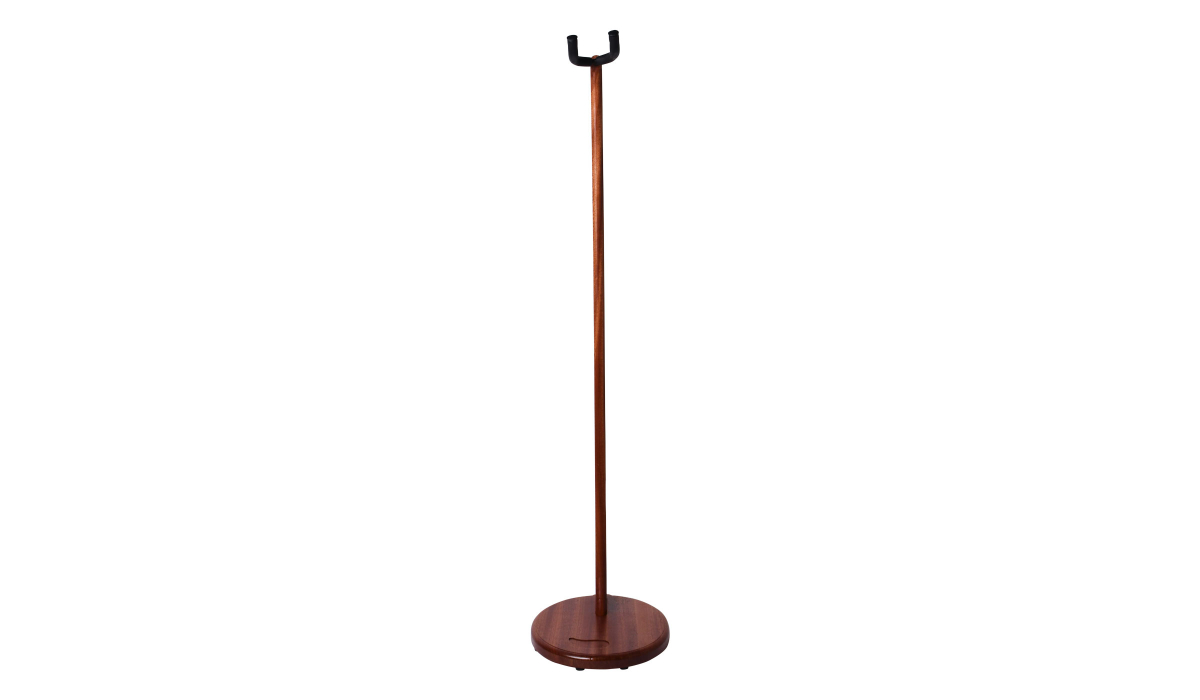 Electric-Acoustic-guitar-stand-mahogany-hardwood-2